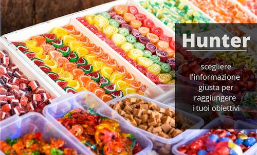 Hunter App per il presidio del punto vendita